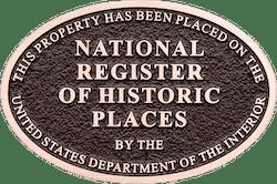 Nashville's Belle Air Mansion National Register of Historic Places Badge