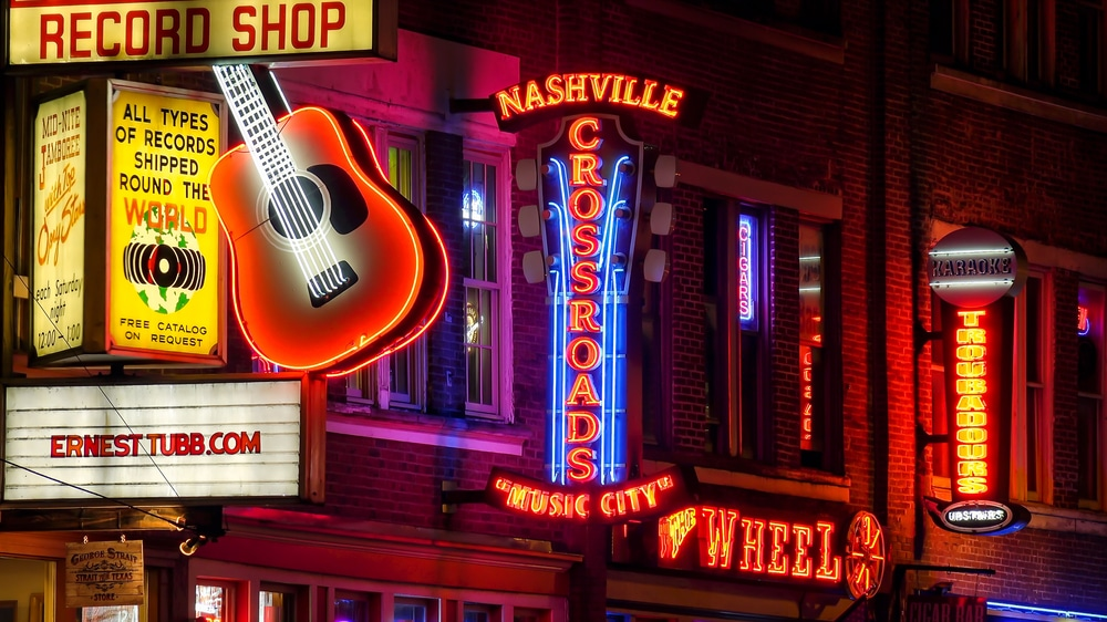 Walking along Honky Tonk Highway in nashville is one of the #1-rated things to do in Nashville