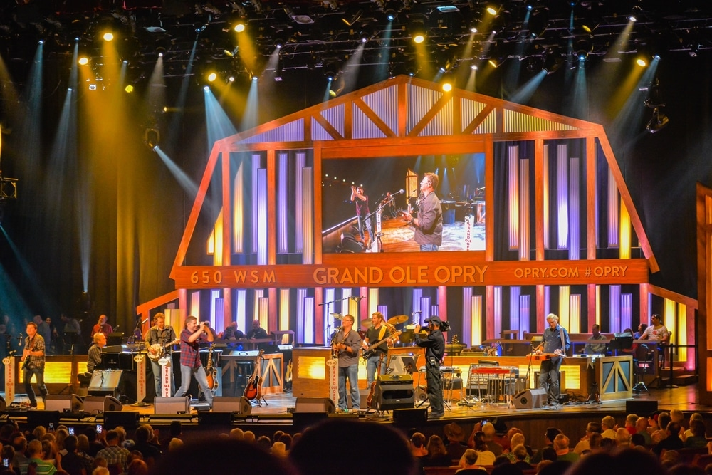 See a performance at the Grand Ole Opry in Downtown Nashville